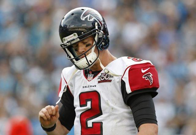Matt Ryan is coming off a disappointing 2015 (AP)