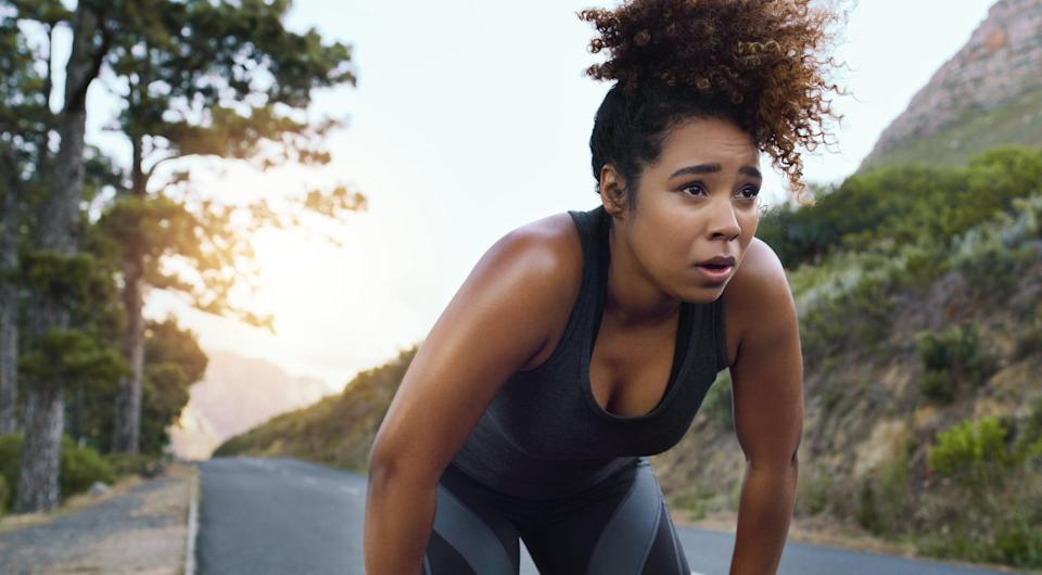 """<p>Increasing your endurance means pushing your limits, which means it's not going to be easy. """"When building endurance, do not stop when it gets hard,"""" Hirt said. """"I tell my runners, when you think you can't go anymore, hold on for 10 more seconds, then back off.""""</p> <p>That said, trust your body. If the pain in your muscles or joints feels like an injury, stop and assess the situation. If it's discomfort - your lungs aching as you run hard, lactic acid burning in your leg muscles - see if you can push a little more before you back off.</p>"""