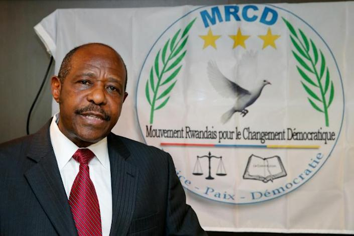 Paul Rusesabagina angered the Rwandan government by using the Hollywood limelight to crusade for political change in his tightly controlled homeland (AFP/NICOLAS MAETERLINCK)