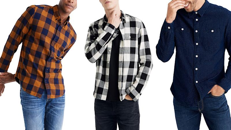 Madewell now has a men's line and its great.
