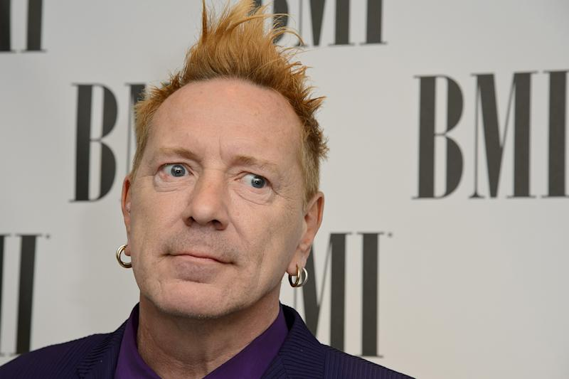 Speaking out: Sex Pistols frontman John Lydon: Ben A. Pruchnie/Getty