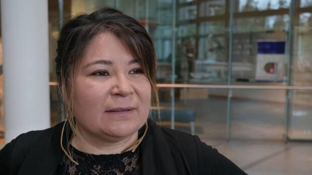 N.W.T. Minister of Municipal and Community Affairs Paulie Chinna said repeatedly she lacked the 'level of detail' necessary to respond to MLAs questions about flood relief Thursday.  (Mario De Ciccio/Radio-Canada - image credit)
