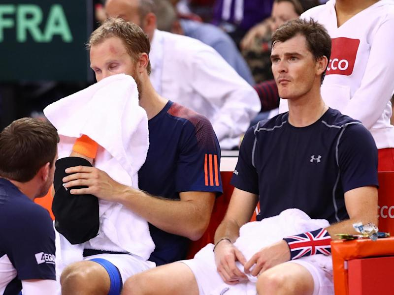 Murray and Inglot were outclassed by their French opponents (Getty)