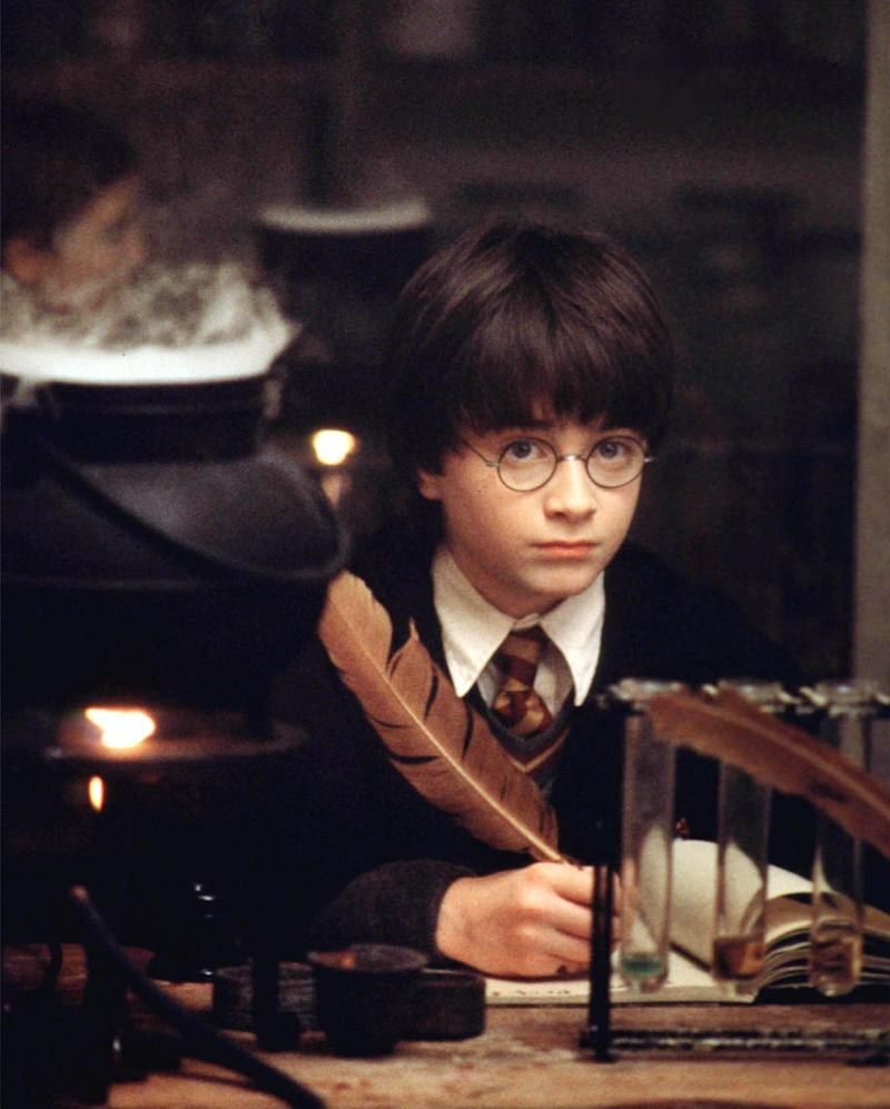 """Actor Daniel Radcliffe as the title character in the Warner Bros. film """"Harry Potter and the Sorcerer's Stone,"""" now available on HBO Max. (Photo: Ho New / Reuters)"""