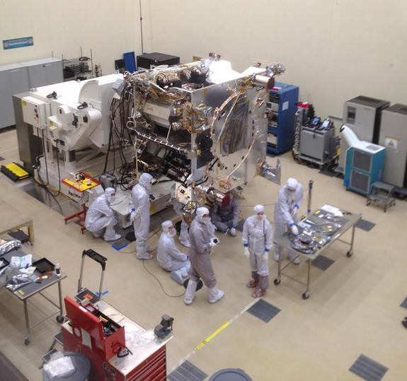 Maven's Haven: NASA's Next Mars Mission Preps for Launch