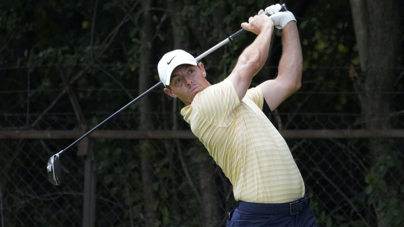 Rory McIlroy ready to leave BMW Championship if wife Erica goes into labour