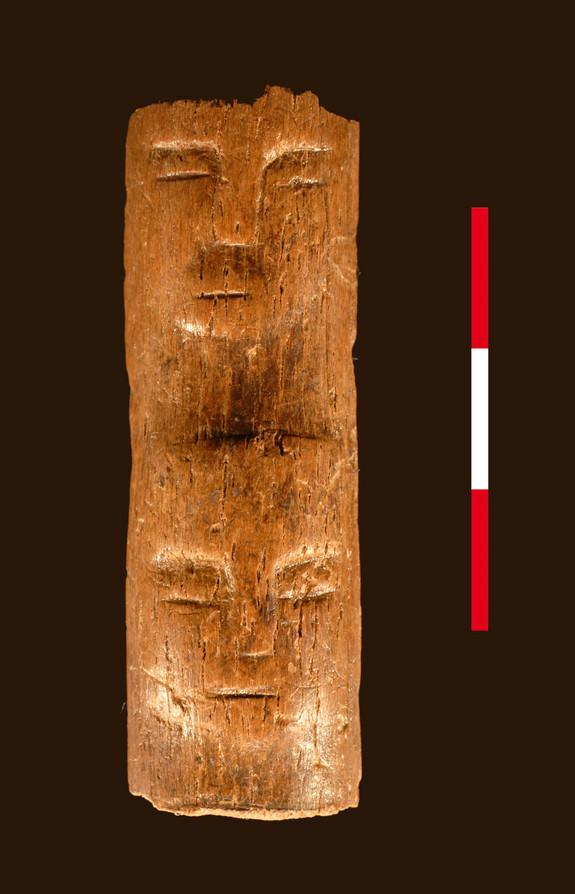 Ancient 'Ritual Wand' Etched with Human Faces Discovered in Syria