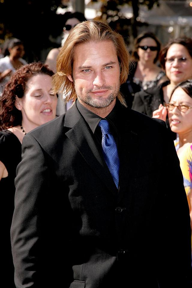 """Ruggedly handsome Josh Holloway turns all the ladies' heads. James Devaney/<a href=""""http://www.wireimage.com"""" target=""""new"""">WireImage.com</a> - May 15, 2007"""