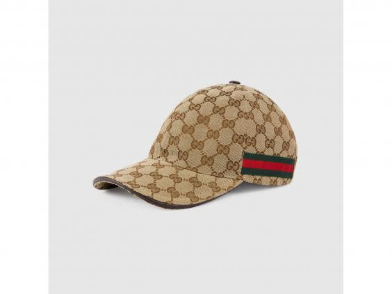 Shoppers love this Gucci canvas cap, according to Lyst (Gucci)