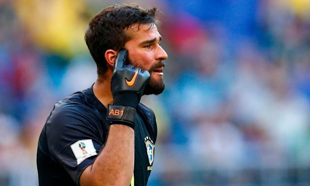 Liverpool close on world-record deal for Alisson as Roma accept £66.9m offer