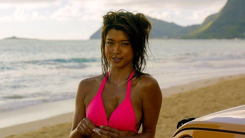 <p>We are digging this beach hair look.</p>