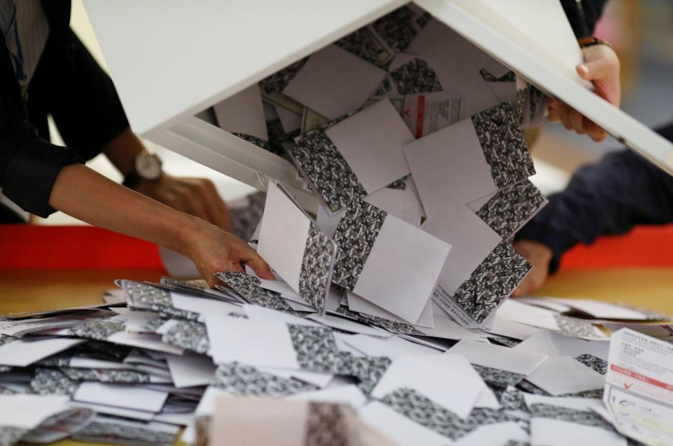 Legco elections will be held in December. Photo: Reuters