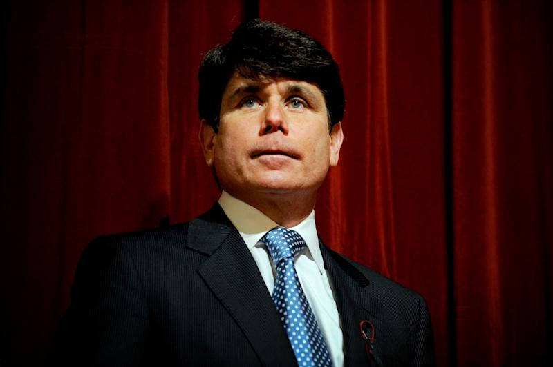 'I'm a Trump-ocrat': Blagojevich thanks president for setting him free