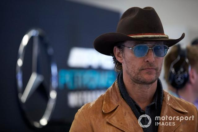 "Actor Matthew McConaughey <span class=""copyright"">Steve Etherington / Motorsport Images</span>"