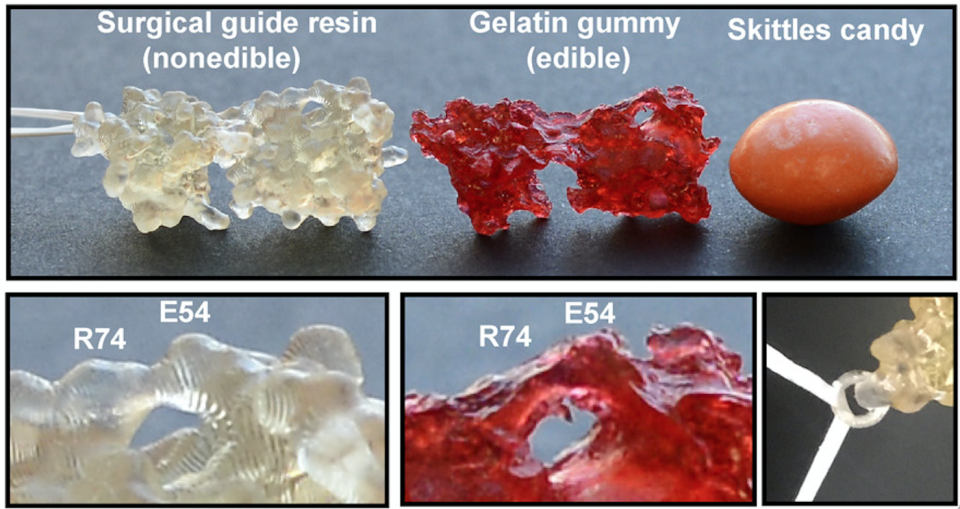 A team of researchers has created gummy molecules so that those with vision loss can taste their unique atomic structures.