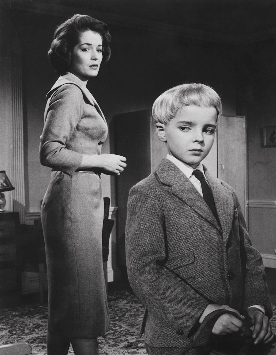 With Martin Stephens in Village of the Damned (1962) -  Mgm/Kobal/Shutterstock