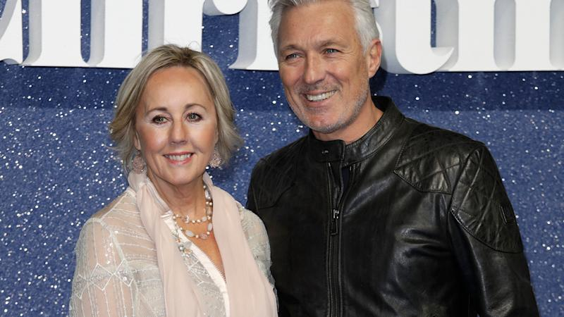 Shirley, with husband Martin Kemp, says love keeps her going through difficult times