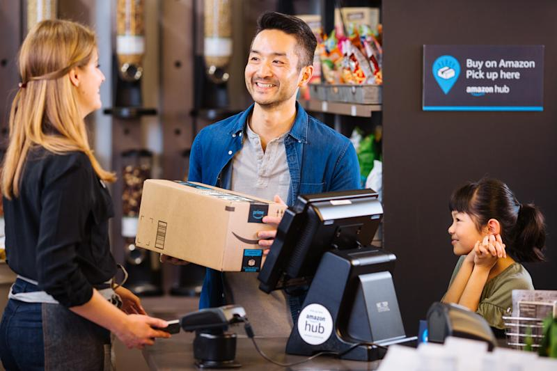 Amazon Counter enables quick and easy pickup of packages from retail locations