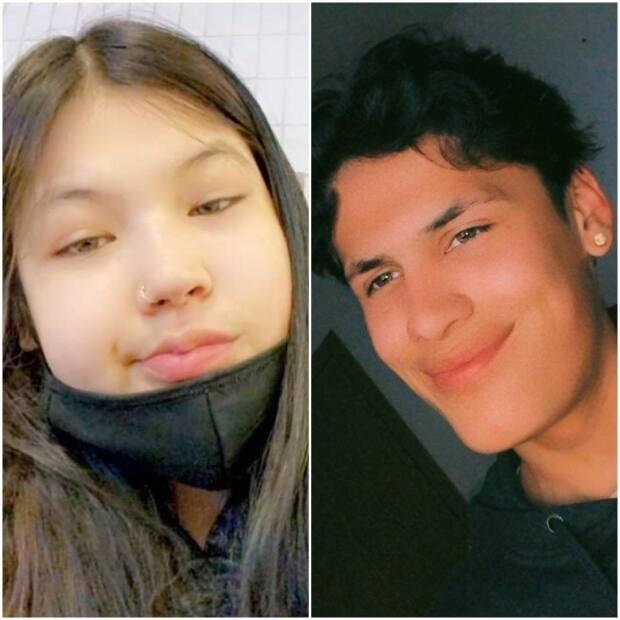 Police say the pair may be in Waterhen Lake First Nation or the Meadow Lake area, but that has not been confirmed.