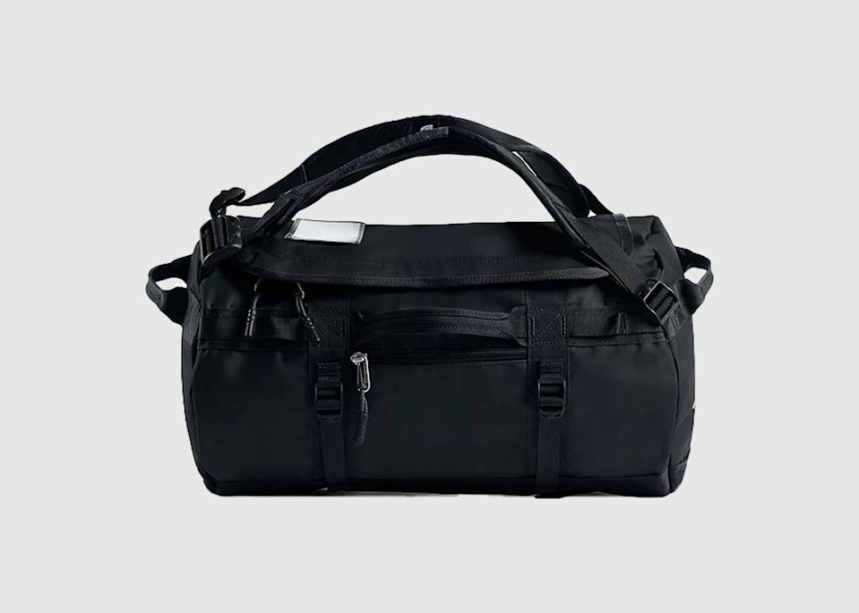"<p>""I don't have just one [kind of bag]. My <a href=""https://www.patagonia.com/home/"" rel=""nofollow noopener"" target=""_blank"" data-ylk=""slk:Patagonia"" class=""link rapid-noclick-resp"">Patagonia</a> roller duffel is handy. I almost always have my North Face duffel, since you can make it big or small with straps, and reduce it to a carry-on. We recommend unusual colors so that you can find your bag easily. Having one that's <a href=""https://www.cntraveler.com/story/vessi-waterproof-shoes?mbid=synd_yahoo_rss"" rel=""nofollow noopener"" target=""_blank"" data-ylk=""slk:waterproof"" class=""link rapid-noclick-resp"">waterproof</a> is super handy, since we can go from plane to boat to kayak. And with active travel, it's nice to have two bags—one for more formal, clean stuff, and the other for shoes or gear or dirty clothes. It's very important to have good bag tags so that on arrival, staff can make sure that the right bags get into the right room. Always helpful to have a lock as well!"" <em>—</em><a href=""https://www.cntraveler.com/contributor/cari-gray?mbid=synd_yahoo_rss"" rel=""nofollow noopener"" target=""_blank"" data-ylk=""slk:Cari Gray"" class=""link rapid-noclick-resp""><em>Cari Gray</em></a><em>, founder, Gray & Co.</em></p> <p><strong>Shop now:</strong> <a href=""https://fave.co/3grezsZ"" rel=""nofollow noopener"" target=""_blank"" data-ylk=""slk:thenorthface.com"" class=""link rapid-noclick-resp"">thenorthface.com</a></p>"