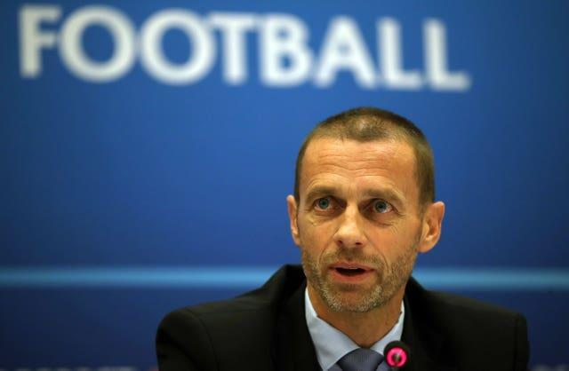 UEFA president Aleksander Ceferin is keen to ensure a strong competitive balance in the women's game