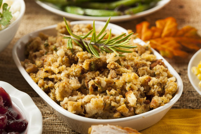 Stuffing dates back to ancient Rome (Photo: Getty)