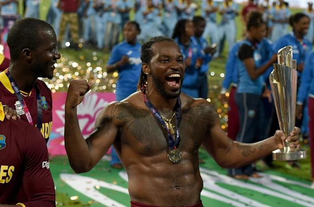 With stars like West Indies batsman Chris Gayle making fortunes, players are likely to resist any attempt to impose restrictions (AFP Photo/INDRANIL MUKHERJEE)