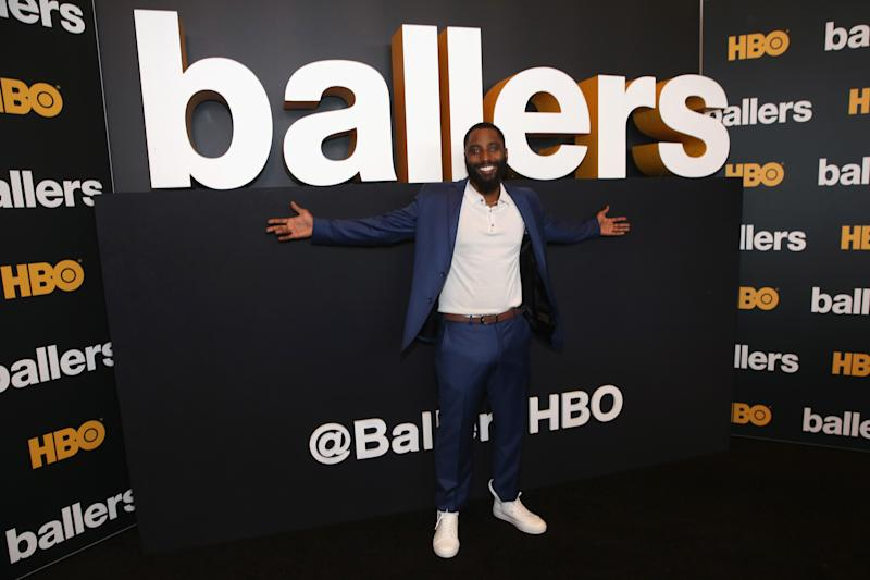 MIAMI BEACH, FL - JULY 14: John David Washington attends the HBO Ballers Season 2 Red Carpet Premiere and Reception on July 14, 2016 at New World Symphony in Miami Beach, Florida. (Photo by Aaron Davidson/Getty Images for HBO)