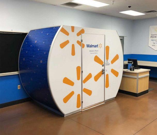 PHOTO: A Mamava pod is pictured at a Walmart store in Gilbert, Arizona. (Walmart)