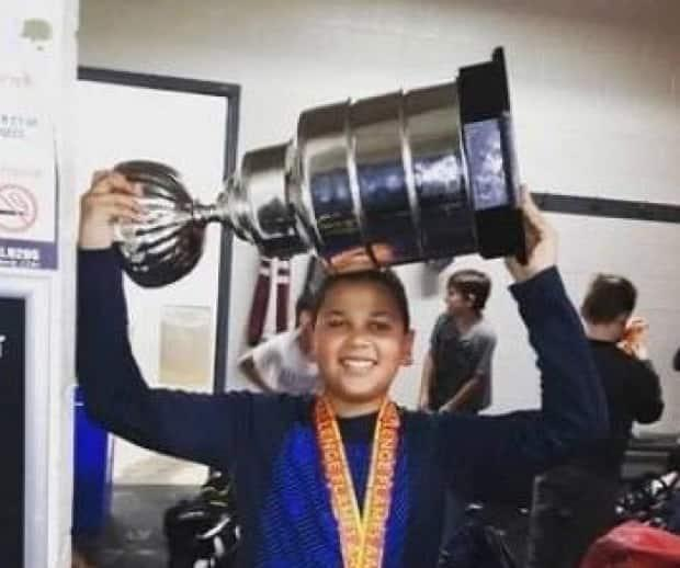 Teen hockey player Matéo Pérusse-Shortte says a family in the stands once called him the N-word. He first confronted racism head-on when he was eight years old.