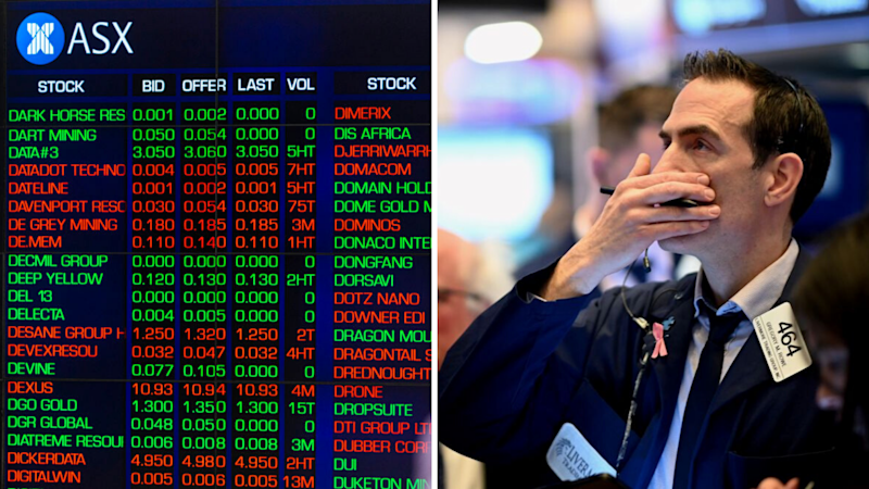 ASX set to plunge at open. Source: Getty