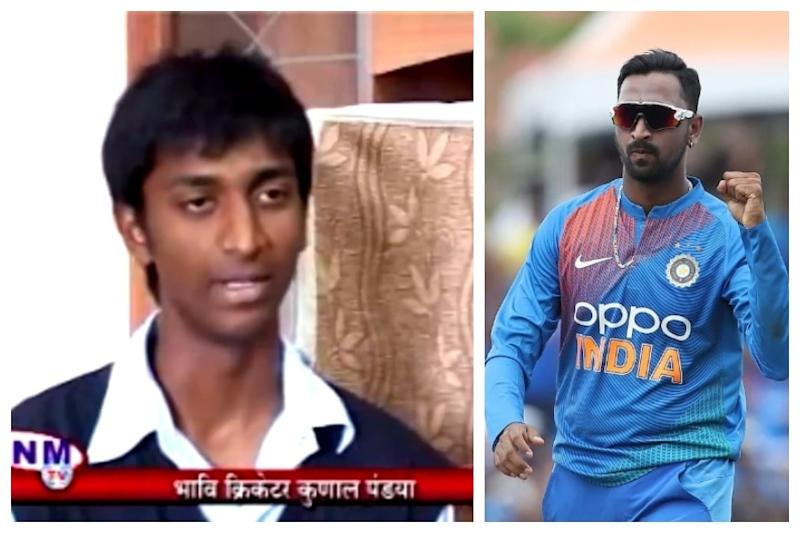 Krunal Pandya Posts Throwback to His and Brother Hardik's First TV Interview