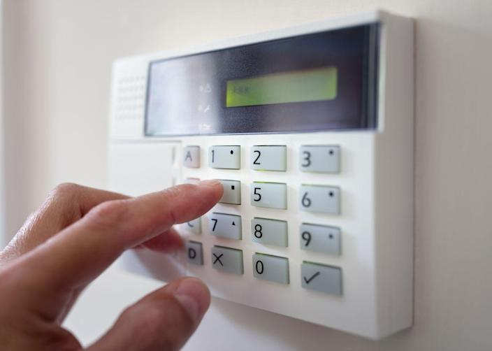 <p>If your home is equipped with a monitored alarm system, be sure to contact the company to let them know that you'll be away. And confirm that they have not only your cell-phone number, but also the phone number of a trusted neighbor, just in case the company can't get a hold of you.</p>