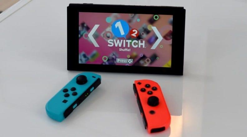Best Graduation Gifts for Him: Nintendo Switch