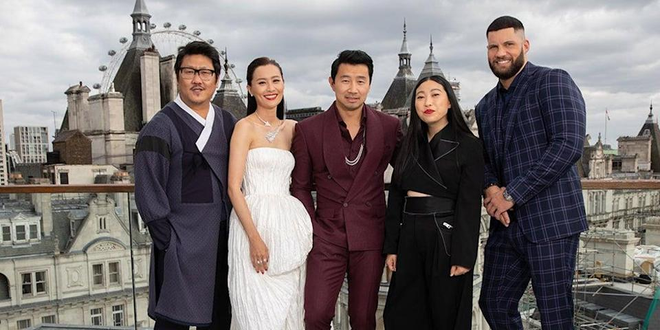 The cast of Shang-Chi And The Legend Of The Ten Rings  (James Gillham/StillMoving.net)