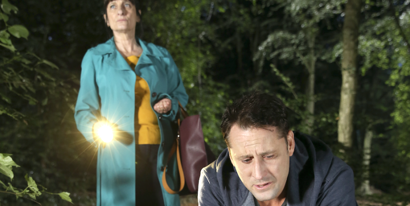 Hollyoaks' Tony Hutchinson launches plan for Harry's body to be found