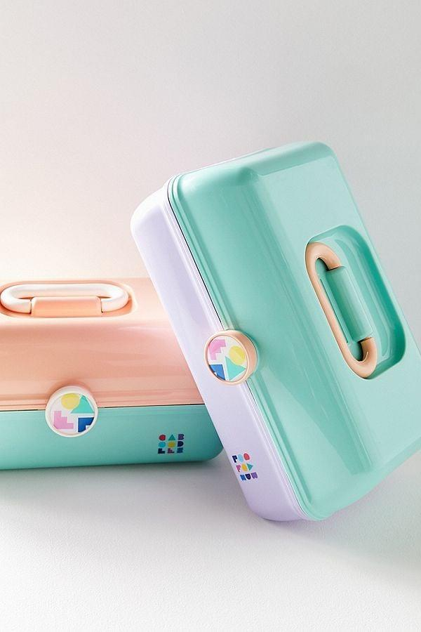 "<p>Take your teen back through to the '90s and your own teenage days with one of these <a rel=""nofollow noopener"" href=""https://www.popsugar.com/buy/Caboodles-365973?p_name=Caboodles&retailer=urbanoutfitters.com&price=18&evar1=moms%3Aus&evar9=45374878&evar98=https%3A%2F%2Fwww.popsugar.com%2Fmoms%2Fphoto-gallery%2F45374878%2Fimage%2F45374961%2FCaboodles---Go-Makeup-Case&prop13=mobile&pdata=1"" target=""_blank"" data-ylk=""slk:Caboodles"" class=""link rapid-noclick-resp"">Caboodles</a> ($18).</p>"