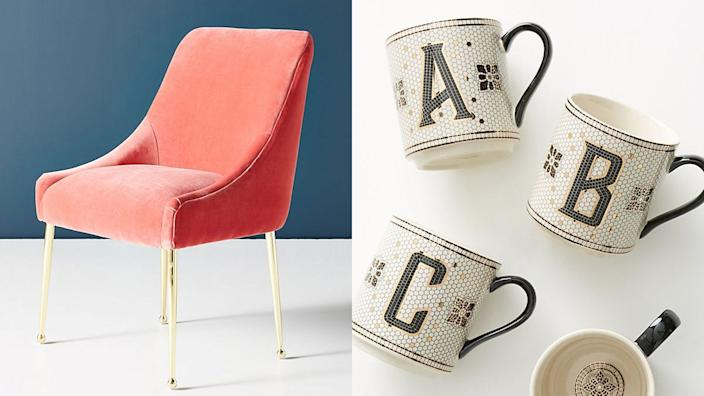 Save on the some of the most popular home decor items Anthro has to offer.