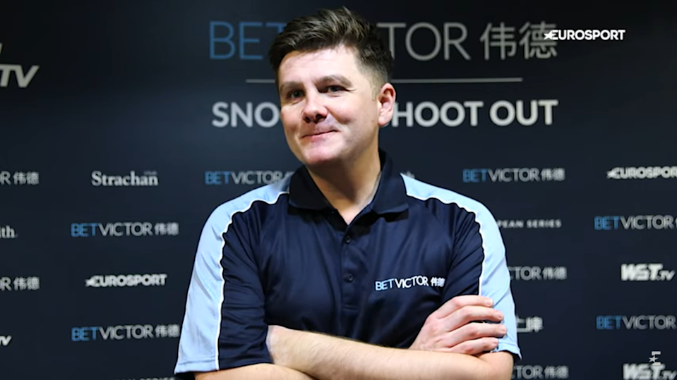 Ryan Day was all smiles after winning his first Snooker Shoot Out