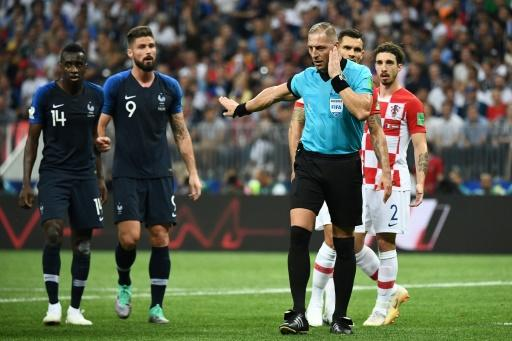 Argentinian referee Nestor Pitana awarded France a penalty after a VAR review