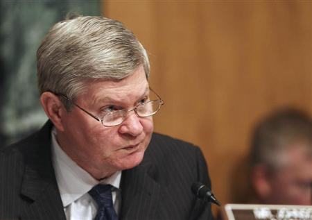 Senator Tim Johnson chairs the Senate Banking Housing and Urban Affairs Committee in Washington