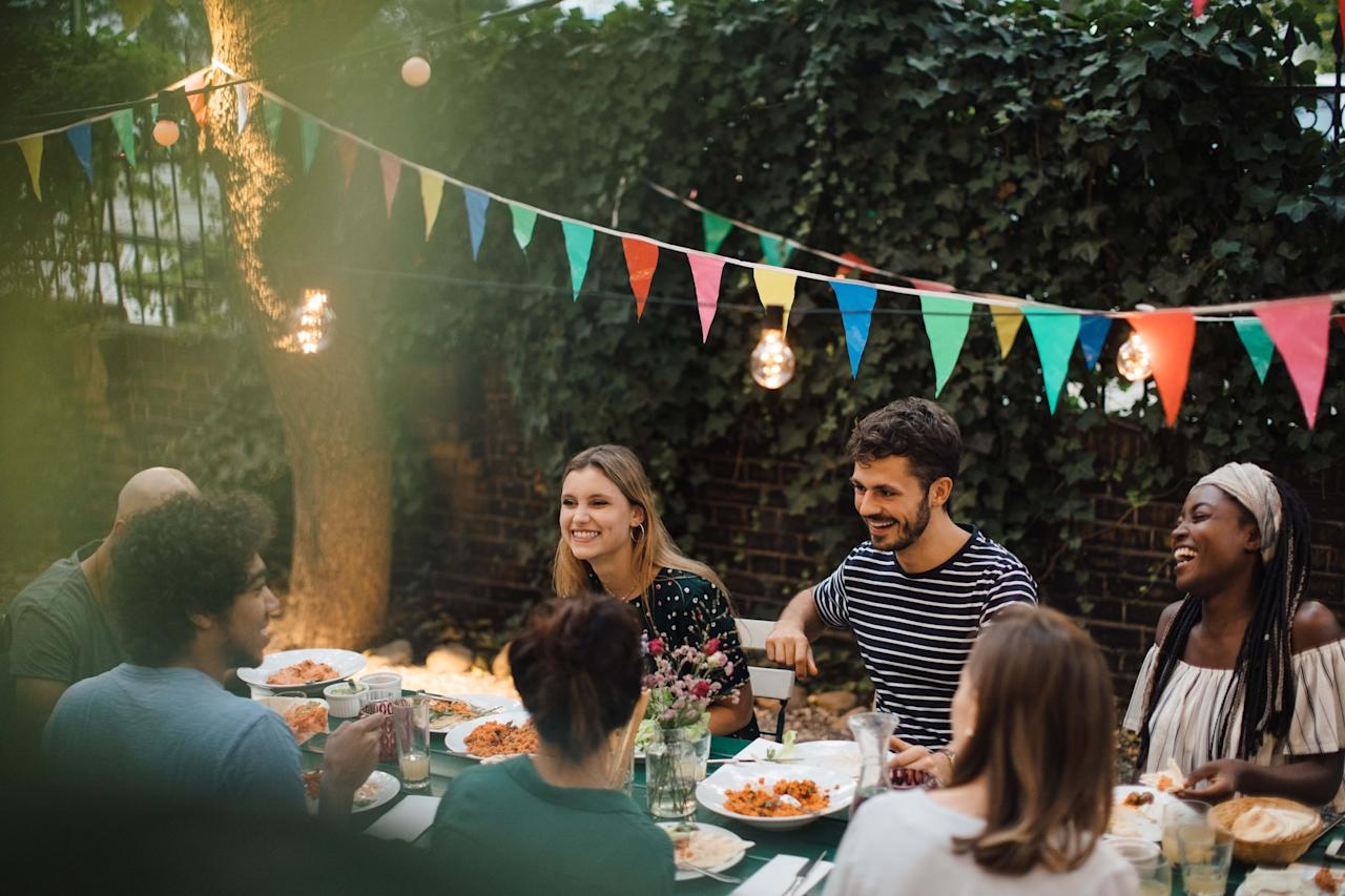 """<p>While traditionally hosted by the groom's parents, the engagement party—the first chance to celebrate the happy couple—is now often thrown by friends, family, or even the happy couple themselves. Once you've successfully navigated <a href=""""https://www.countryliving.com/entertaining/a29235613/engagement-party-etiquette/"""" target=""""_blank"""">engagement party etiquette</a> (who to invite, who pays), it's time to plan the party. You may be busy dreaming up an unforgettable <a href=""""https://www.countryliving.com/entertaining/g801/summer-party-ideas-0609/"""" target=""""_blank"""">backyard barbecue</a> or photo-worthy <a href=""""https://www.countryliving.com/entertaining/g733/spring-table-settings-0209/"""" target=""""_blank"""">seasonal centerpiece</a>, but anyone who has attended their fair share of wedding-related events—be it an engagement party, bridal shower, or bachelorette bash—knows that while the food and decor are nice and all, it's really the games that can take these sorts of occasions from meh to memorable. (Raise your hand if you've ever sat through a slightly painful or cringe-worthy party game while half-heartedly nibbling at your yellow cake.) <br></p><p>And while there's no shortage of fun <a href=""""https://www.countryliving.com/life/entertainment/g4508/bridal-shower-games/"""" target=""""_blank"""">bridal shower games</a> or other <a href=""""https://www.countryliving.com/entertaining/g765/bridal-shower-ideas-0309/"""" target=""""_blank"""">bridal shower ideas</a>, an engagement party calls for activities that cater to both sexes, appeal (ideally) to all ages, and—yes—won't leave your stickler-for-social-decorum grandma blushing. In other words, this is <em>not</em> the place for """"Never Have I Ever."""" Here are 20 consistently crowd-pleasing pastimes for truly memorable merriment.</p>"""