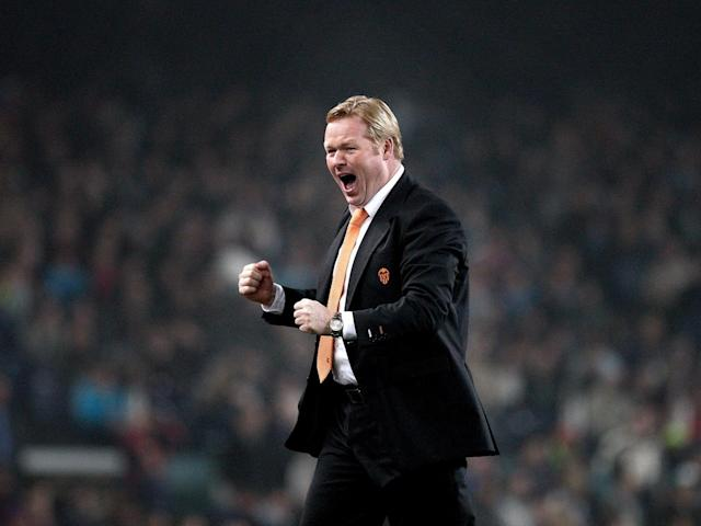Koeman was overlooked for the Holland job (Getty)