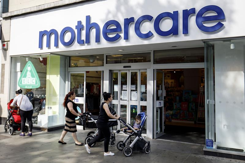 Future of 79 Mothercare stores at risk as company appoints administrator