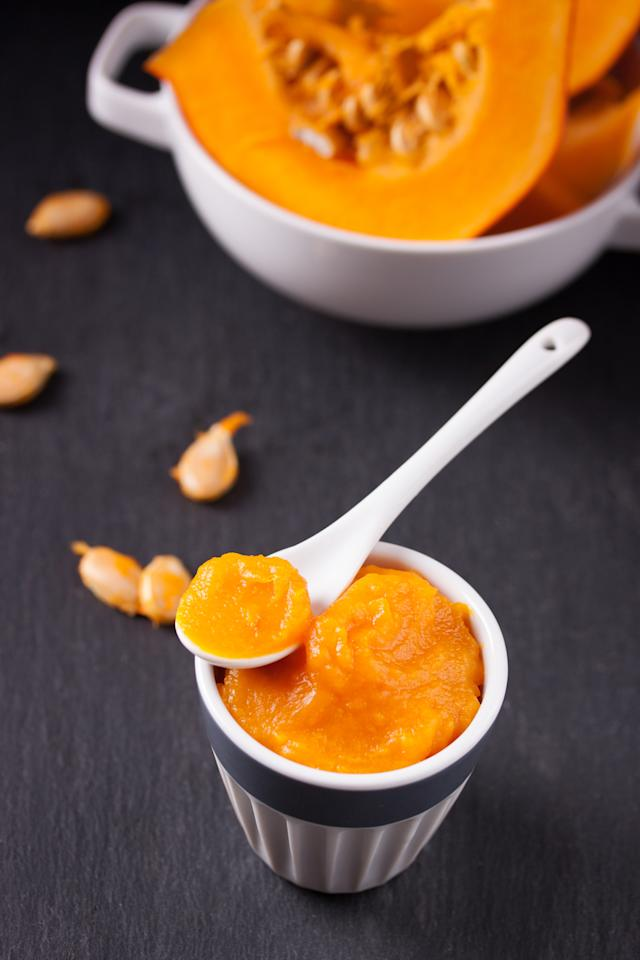 <p>This fruit is another one loaded with antioxidants, anti-inflammatory properties and exfoliating acids, while yoghurt is a natural exfoliant. Which makes this combo great for your skin.<br /> Puree a small slice of pumpkin so that you get 2 tablespoons of pulp. To this add 2 tablespoons of yoghurt and 1 tablespoon of honey. Combine together and apply to your face and neck area in circular upward motions. Keep it on for 10-15 minutes. Then rinse off with warm water.<br /> Photograph: Valeria_aksakova/Freepik.com </p>