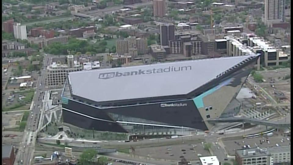 Major new stadiums, like U.S. Bank Stadium in Minneapolis, could lose out on a lucrative tax break. (AP)
