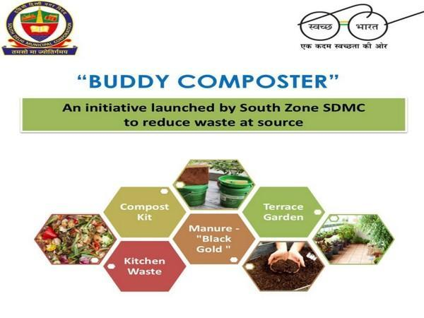 SDMC starts initiative 'Buddy Composter' to reduce waste at source. (Image courtesy: Facebook/ SDMC_Official)