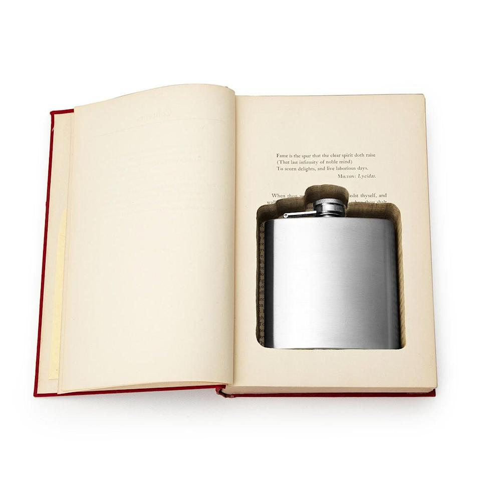 <p>This <span>Flask Book Box</span> ($56) is a pretty cool gift to receive.</p>