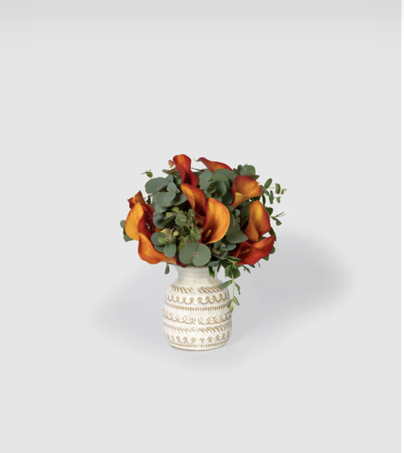 """<p>floracracy.com</p><p><strong>$165.00</strong></p><p><a href=""""https://studio.floracracy.com/step9_selectFlowers.html?id=null&name=null&email=null&q1=48&q2=83&letter=x&track=default-v2&meaning=166&delivery_date=2021-10-30&dl=rs&type=skip1&t=68"""" rel=""""nofollow noopener"""" target=""""_blank"""" data-ylk=""""slk:Shop Now"""" class=""""link rapid-noclick-resp"""">Shop Now</a></p><p>Floracracy has a quiz that allows you to not only choose the color and style of your bouquet, but also the meaning of your flowers, so your table can contain """"hidden"""" messages of gratitude and love.</p>"""