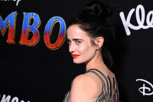 "Eva Green, pictured at the the premiere of Disney's ""Dumbo"" in Los Angeles in March 2019, stars as an astronaut in French movie ""Proxima"""